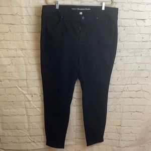 Additionelle black jeans